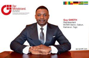 Guy GWETH : nouveau représentant BVMW Bénin, Gabon, Cameroun et Togo