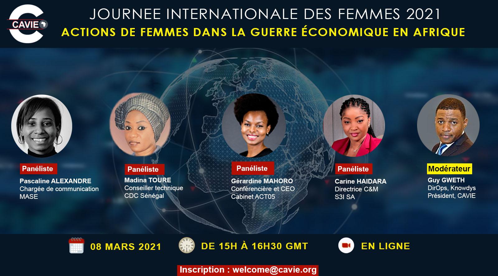 Actions de femmes dans la guerre économique en Afrique