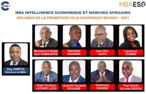 Les premiers diplômés du MBA Intelligence économique et marchés africains